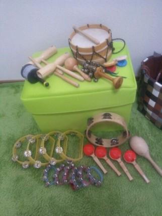グループレッスンで使っている楽器